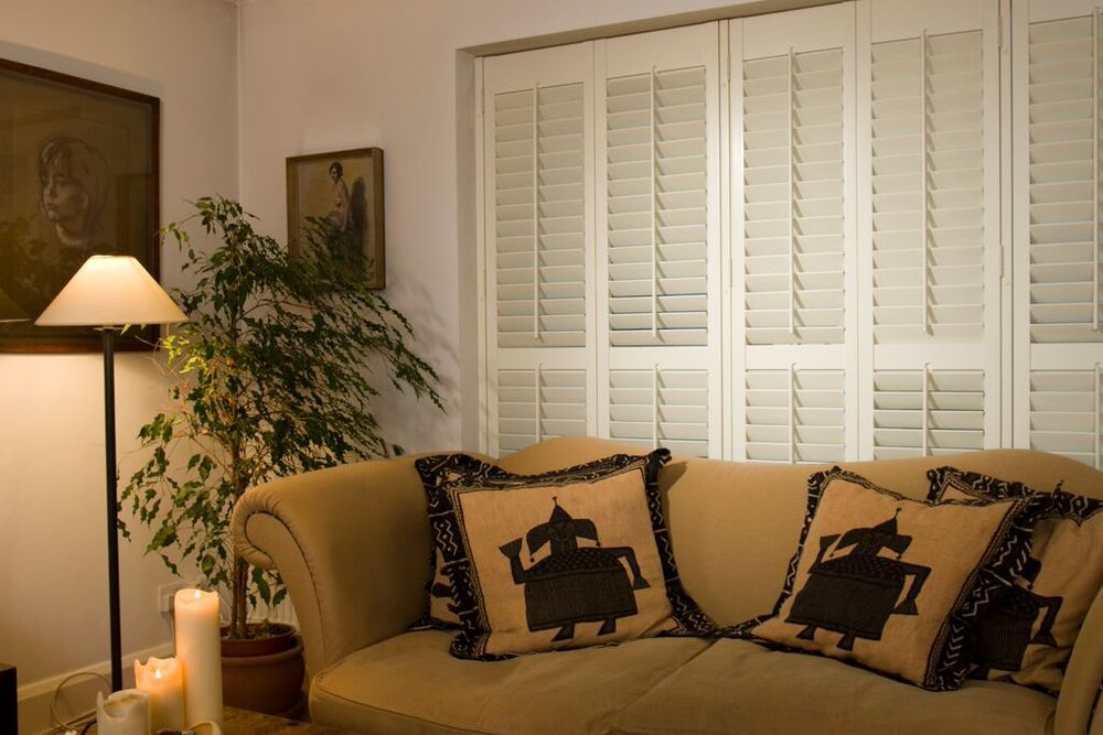 Interior wood plantation shutters Southampton Portsmouth Winchester