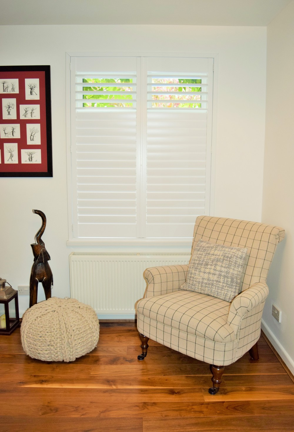 Interior wooden shutters Poole Bournemouth Dorset