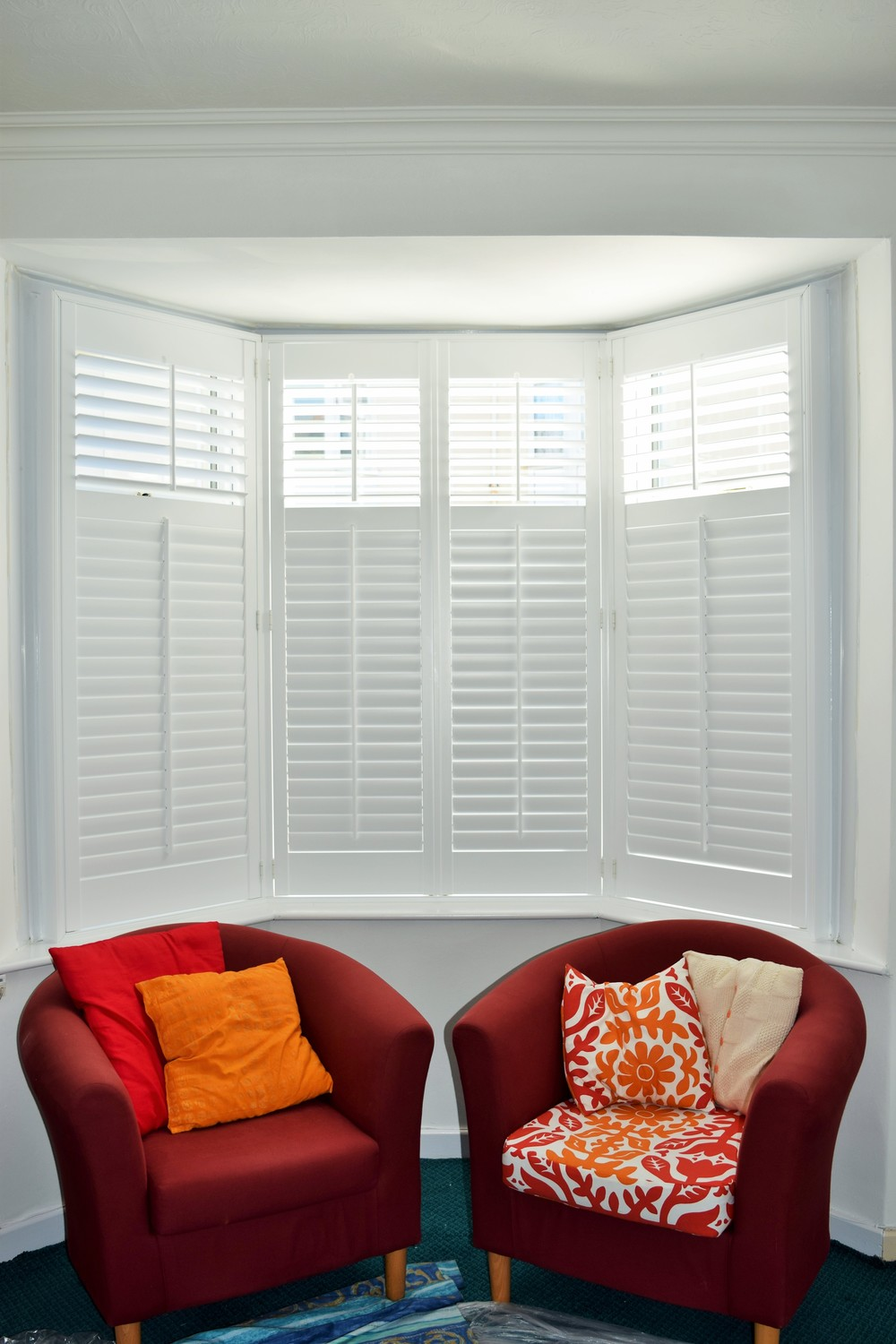 Interior wooden shutters Bournemouth Ringwood Ferndown