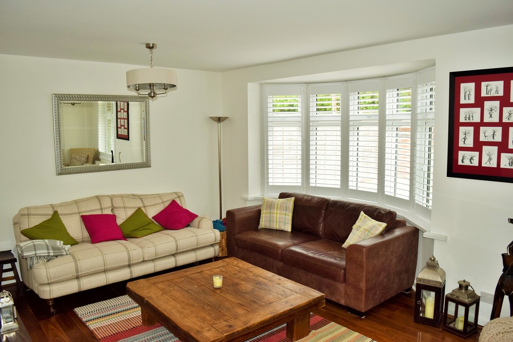 bay window interior shutters poole dorset