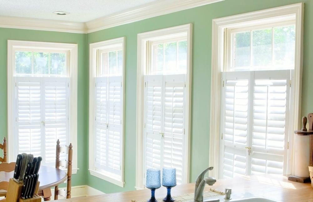 Interior timber shutter blinds Sandbanks