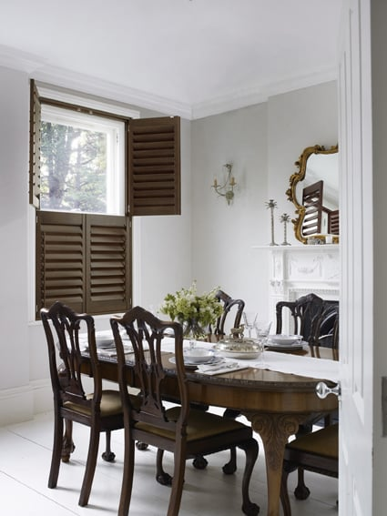 wooden plantation shutters southampton