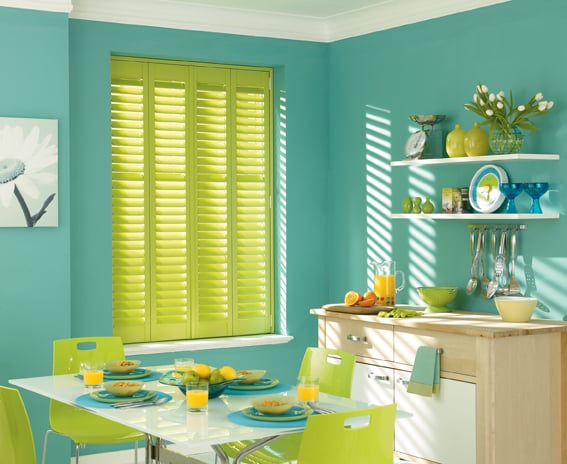 Plantation shutters colours