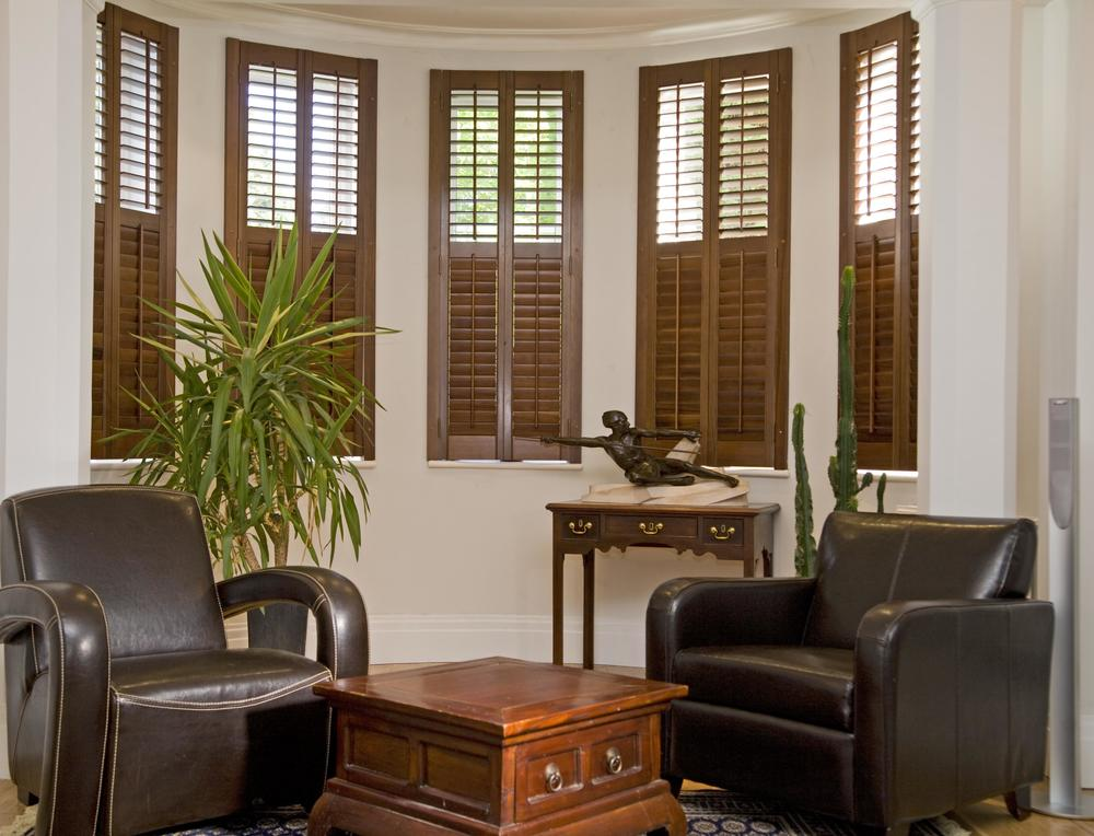 Bay window shutters Christchurch
