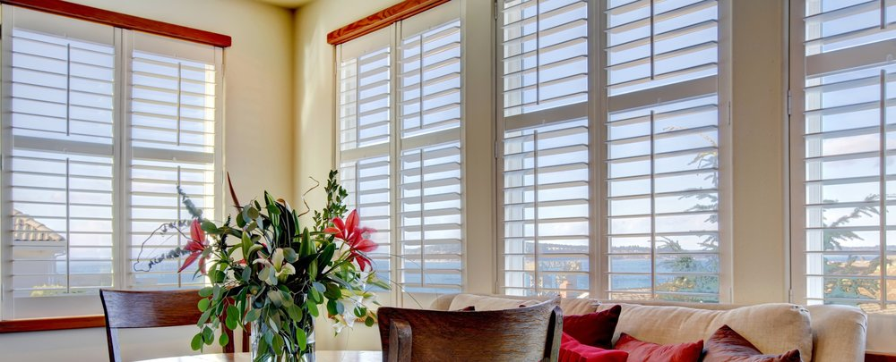 Interior plantation shutters in Wimborne