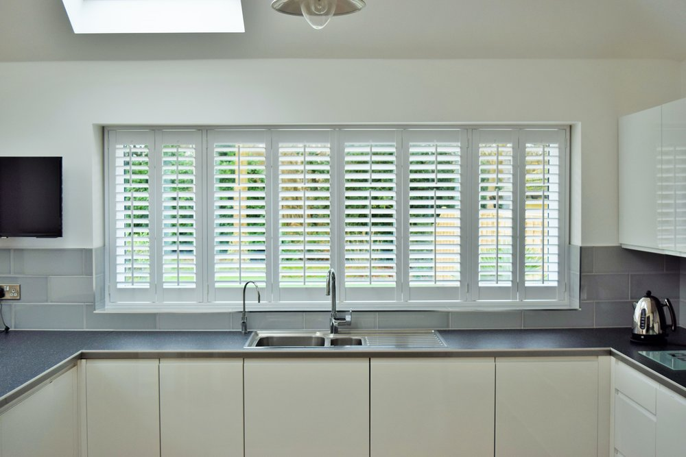 Waterproof plantation shutters in Wimborne, Dorset