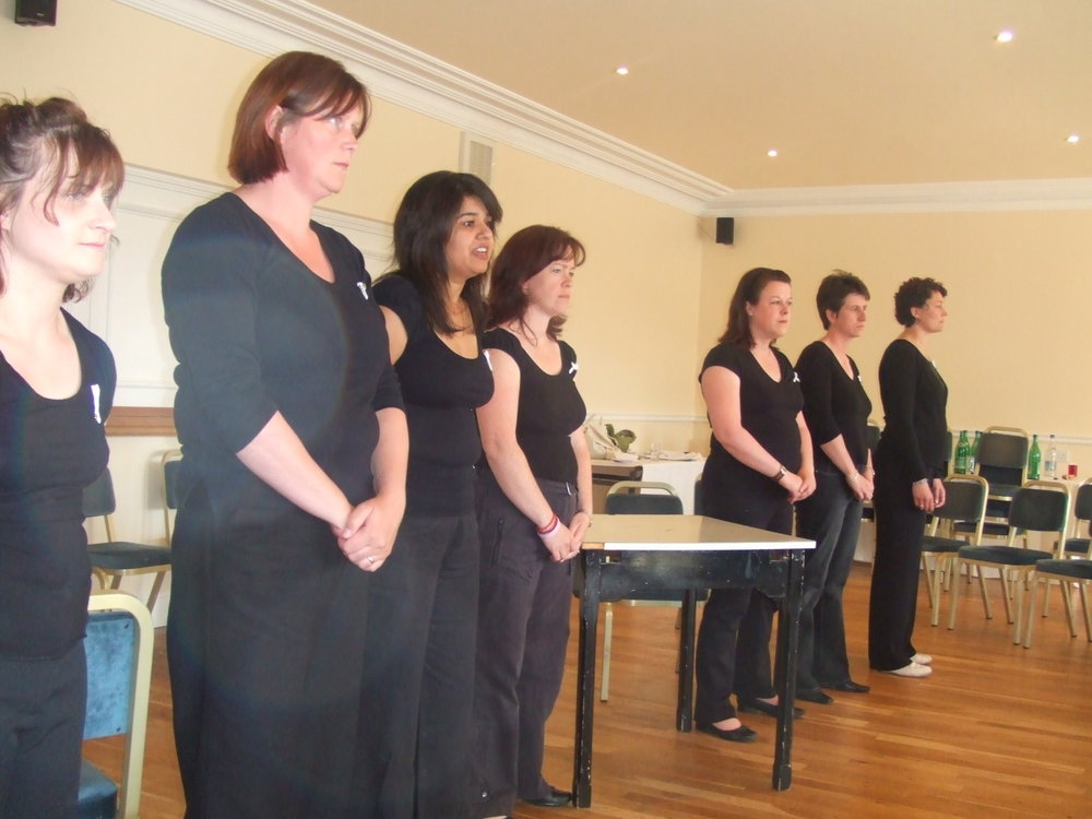 during the first performance normal birth conference, 2004