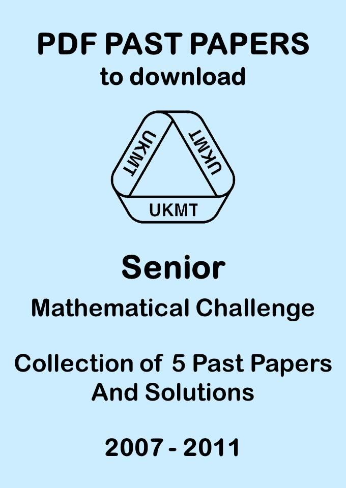 Downloadable Past Papers — UK Mathematics Trust