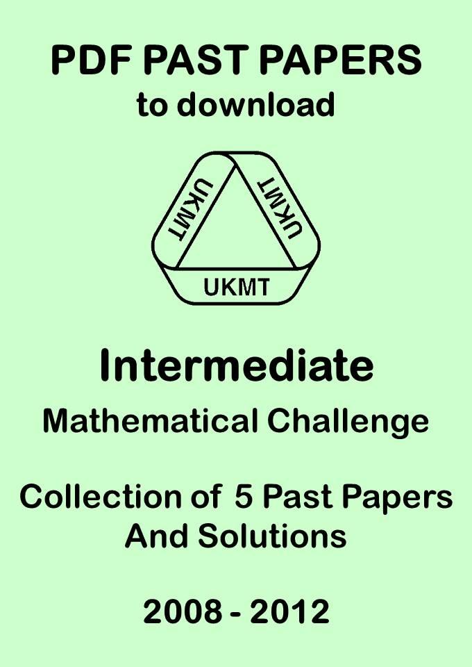 intermediate 2 maths past paper books