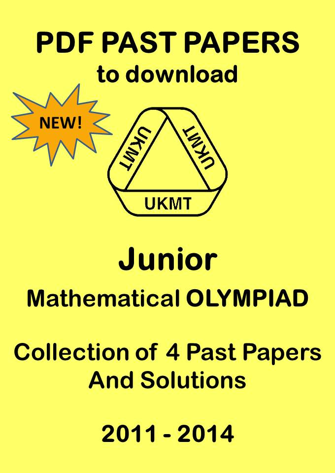 Junior Mathematical Olympiad Past Papers 2011-2014
