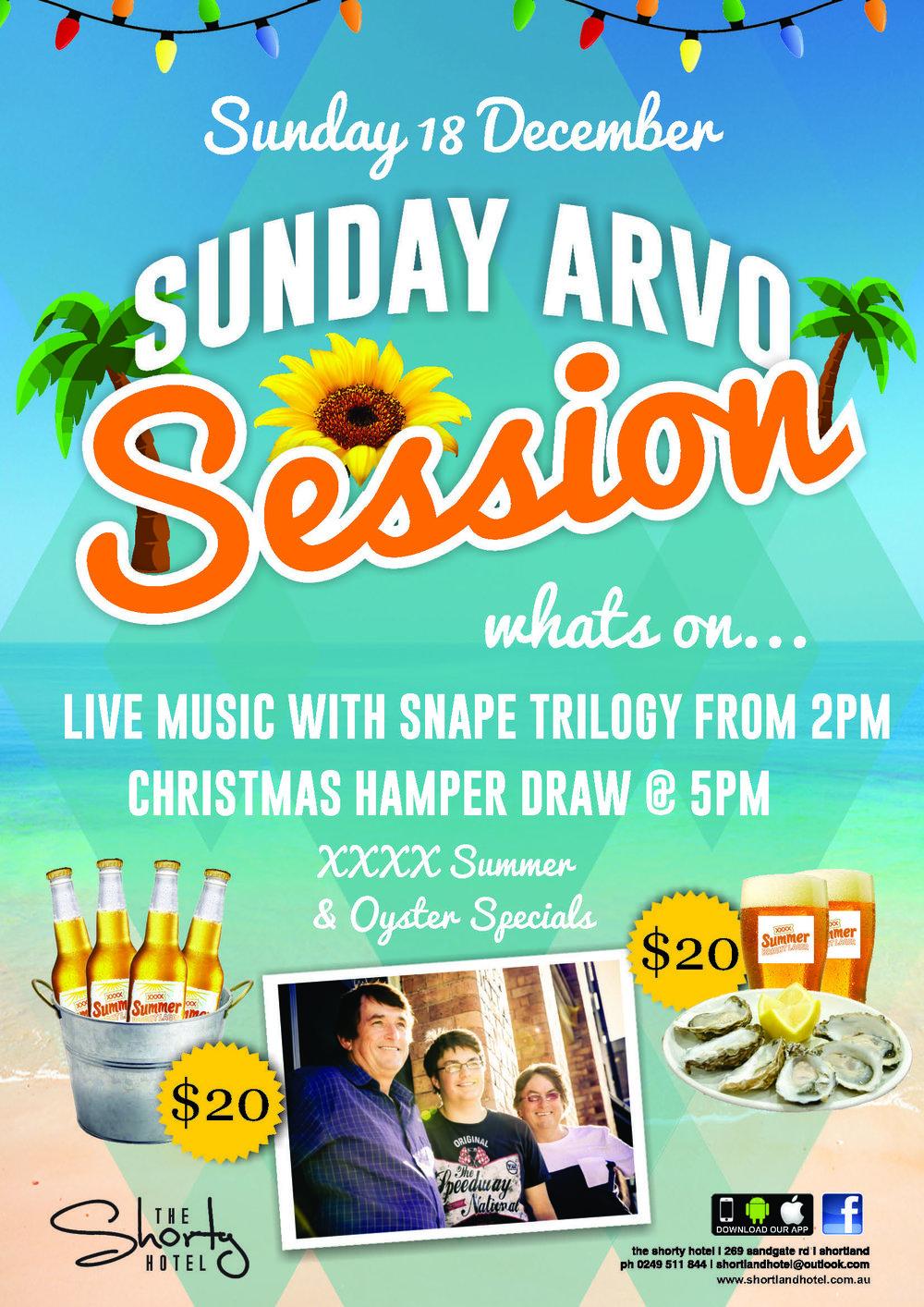Sunday Arvo Session