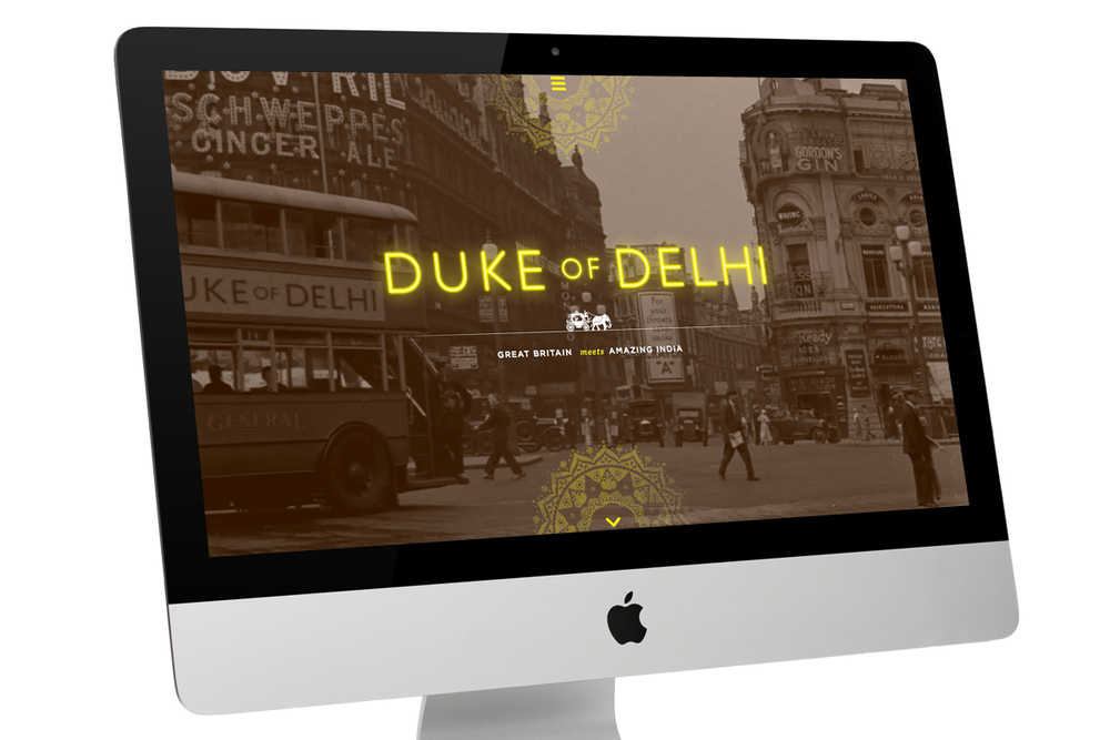 Duke of Delhi Website (Responsive Wordpress) - Homepage Video