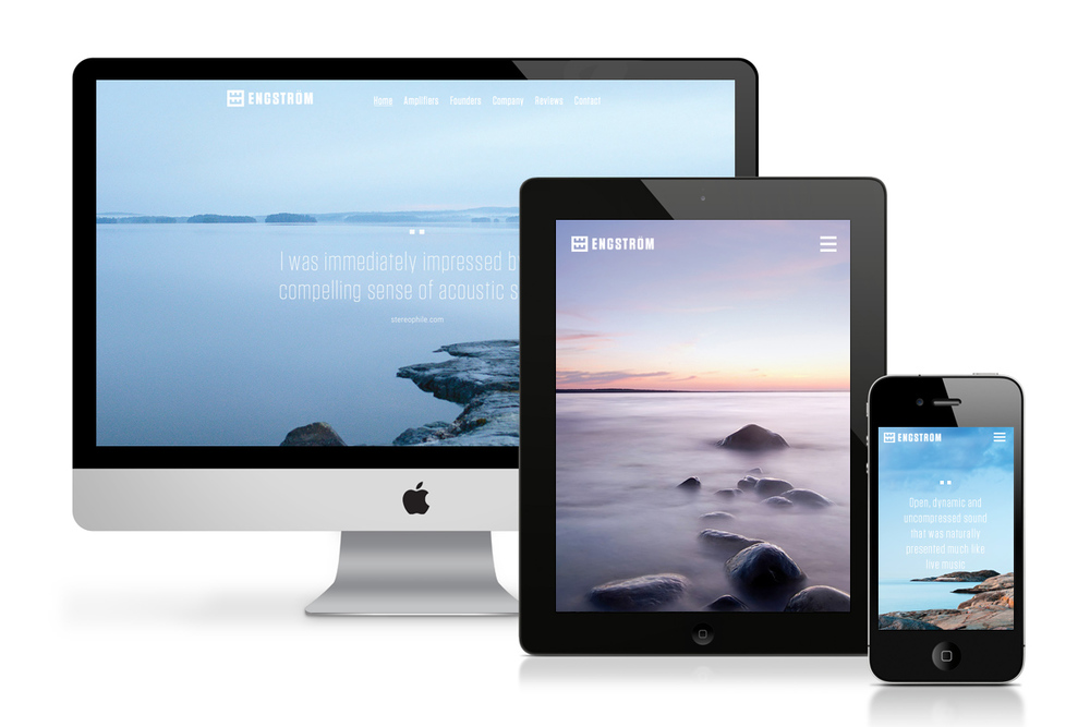 Engström Website (Responsive Wordpress) - Homepage Slideshow