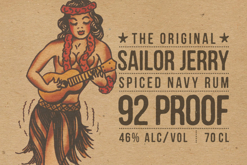 Sailor Jerry - Label Design