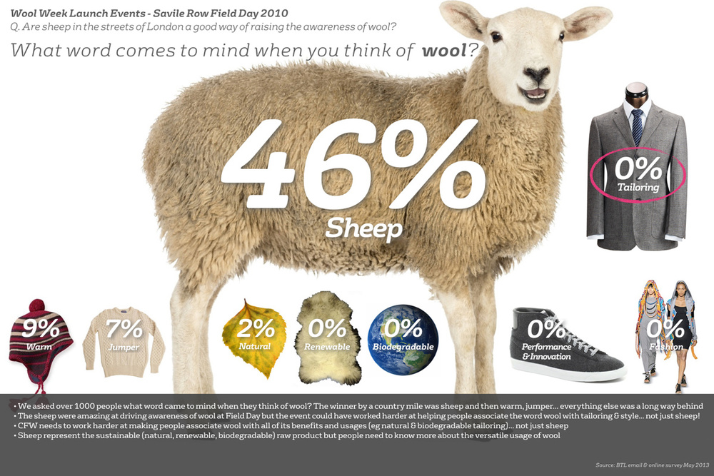 The Campaign For Wool Brand Audit - Words