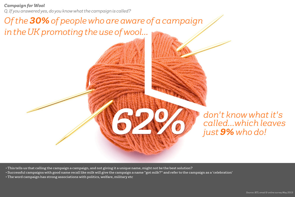 The Campaign For Wool Brand Audit - Name