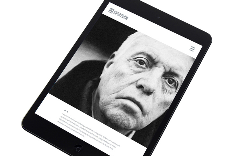 Engström Website (Responsive Wordpress) - Lars Page