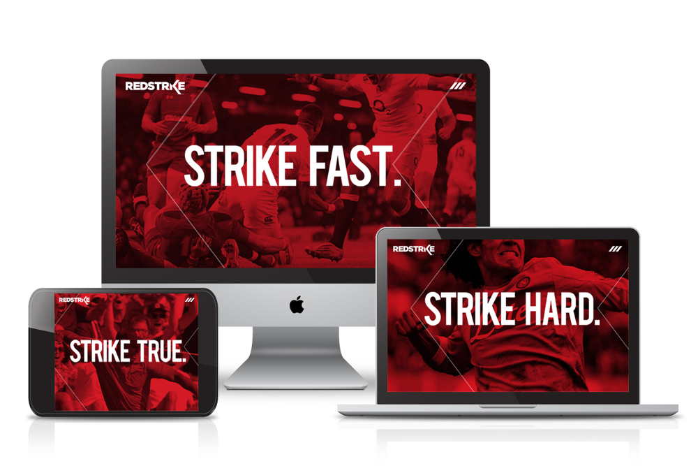 RedStrike Website (Responsive WordPress) - Homepage Slideshow