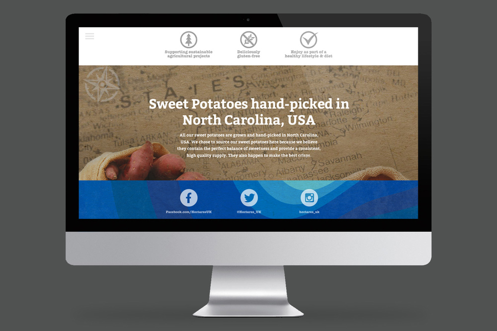 Hectares Website (Responsive Template) - Pages
