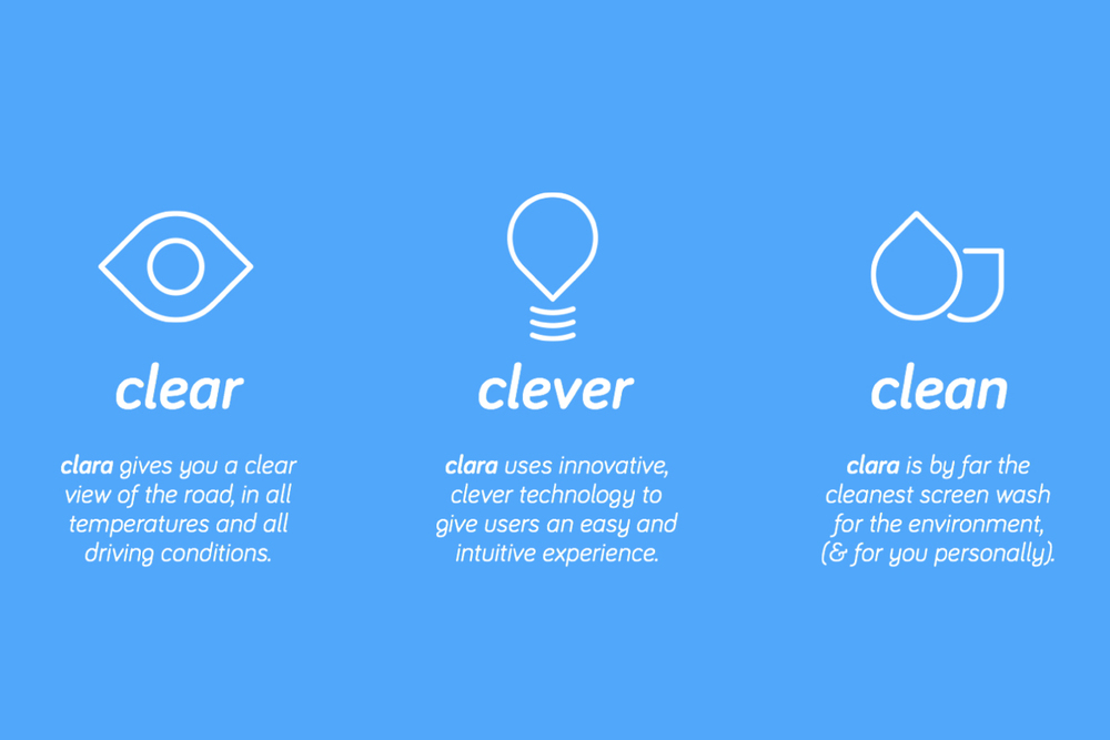Clara - Brand Strategy Pillars
