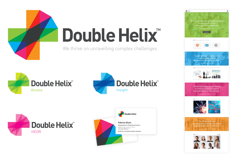 Double Helix - Brand Identity & Application