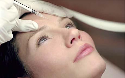 botox facial areas