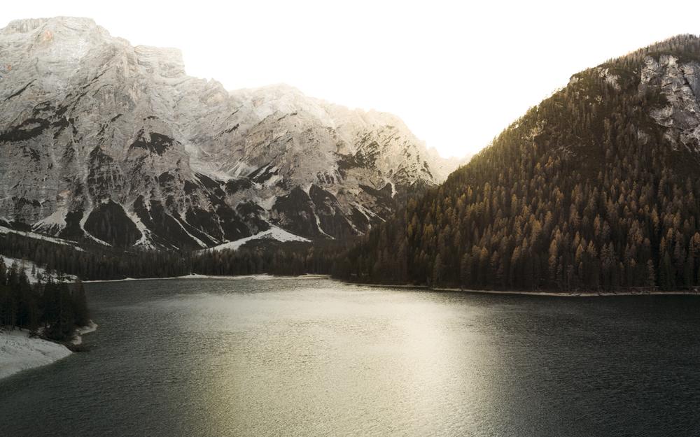 Lago di Braies - Leica M8 - 28mm Summicron (3 shots pano.)