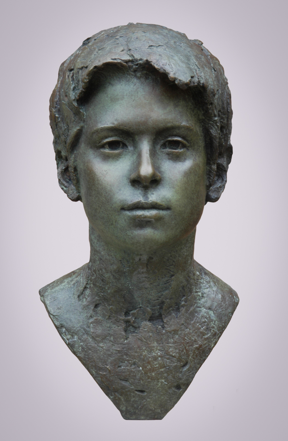 Bronze portrait
