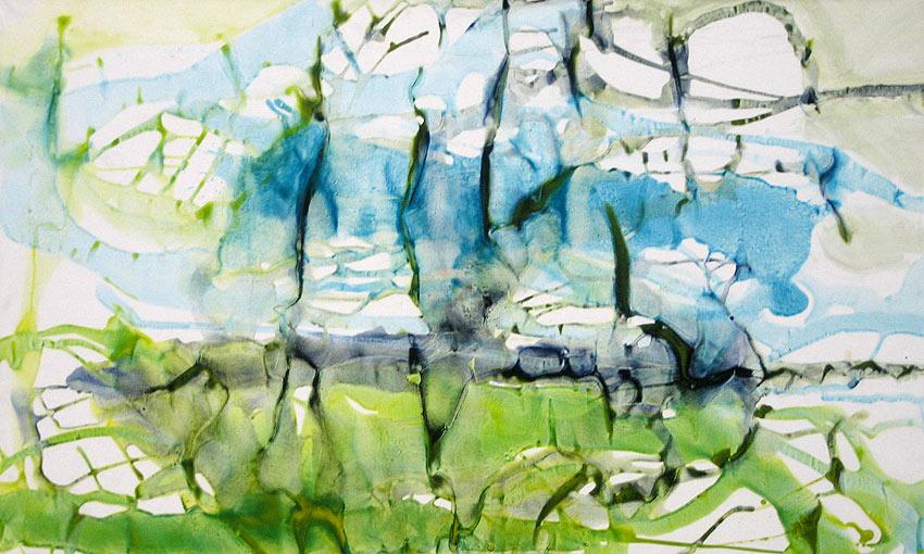 Aube claire, 130x80cm, 2012