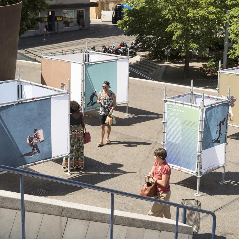 CAP Prize 2017 Gewinnerausstellung am IAF Basel 2017 auf dem Theaterplatz, Juni 2017