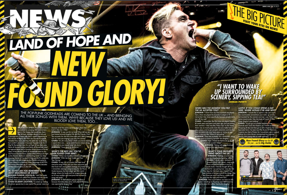 Kerrang! Issue 1658 (18.2.17)
