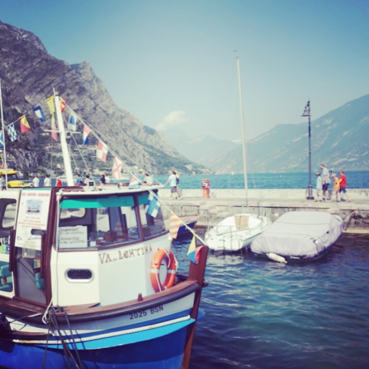 Lunch-stopp i Limone