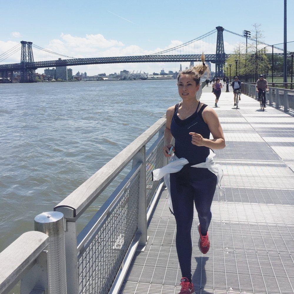 Löpning är för övrigt ett för jäkla trevligt sätt att lära känna en stad på.
