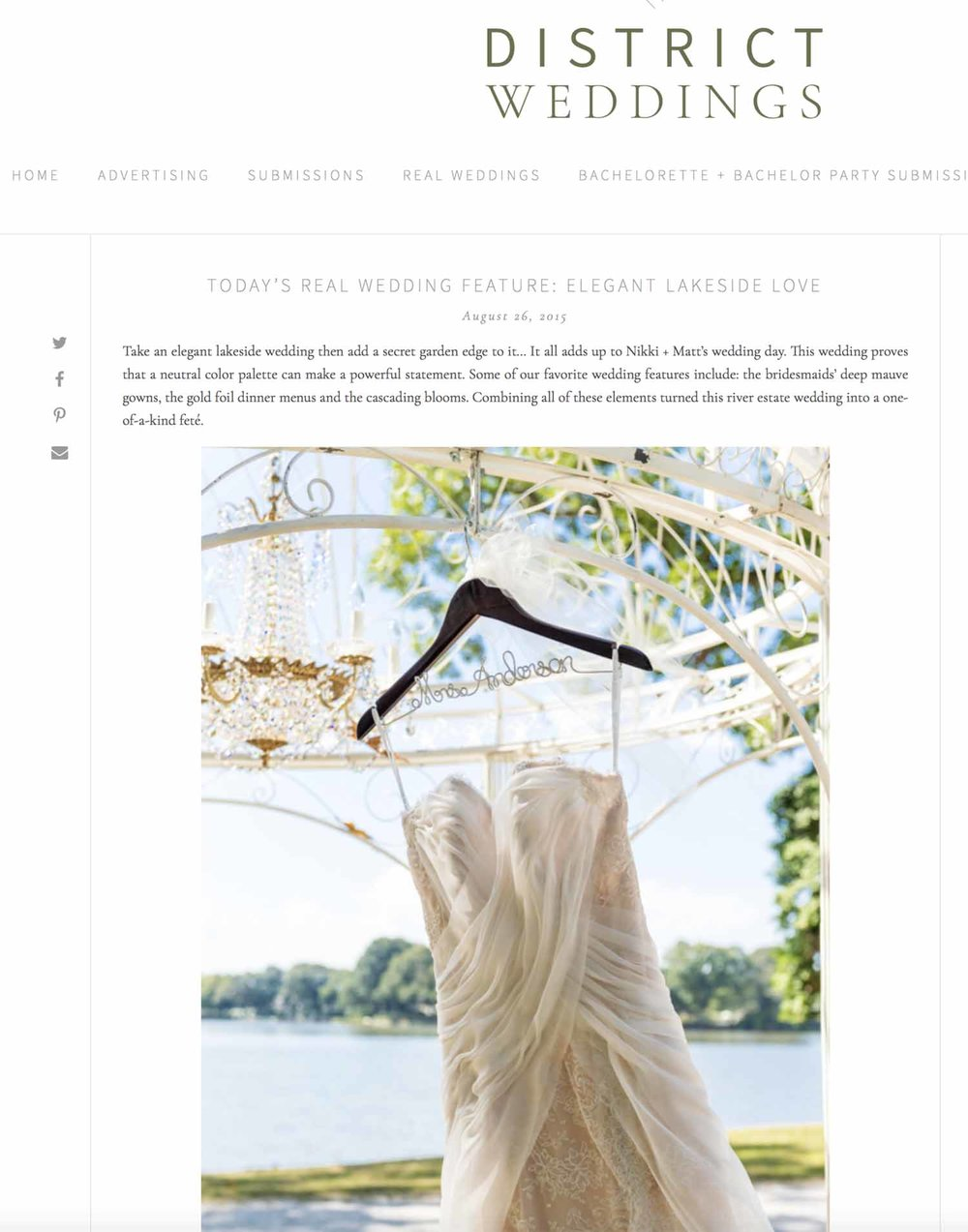 To see more of this elegant Maryland waterfront wedding on the Chesapeake Bay, click the image above.