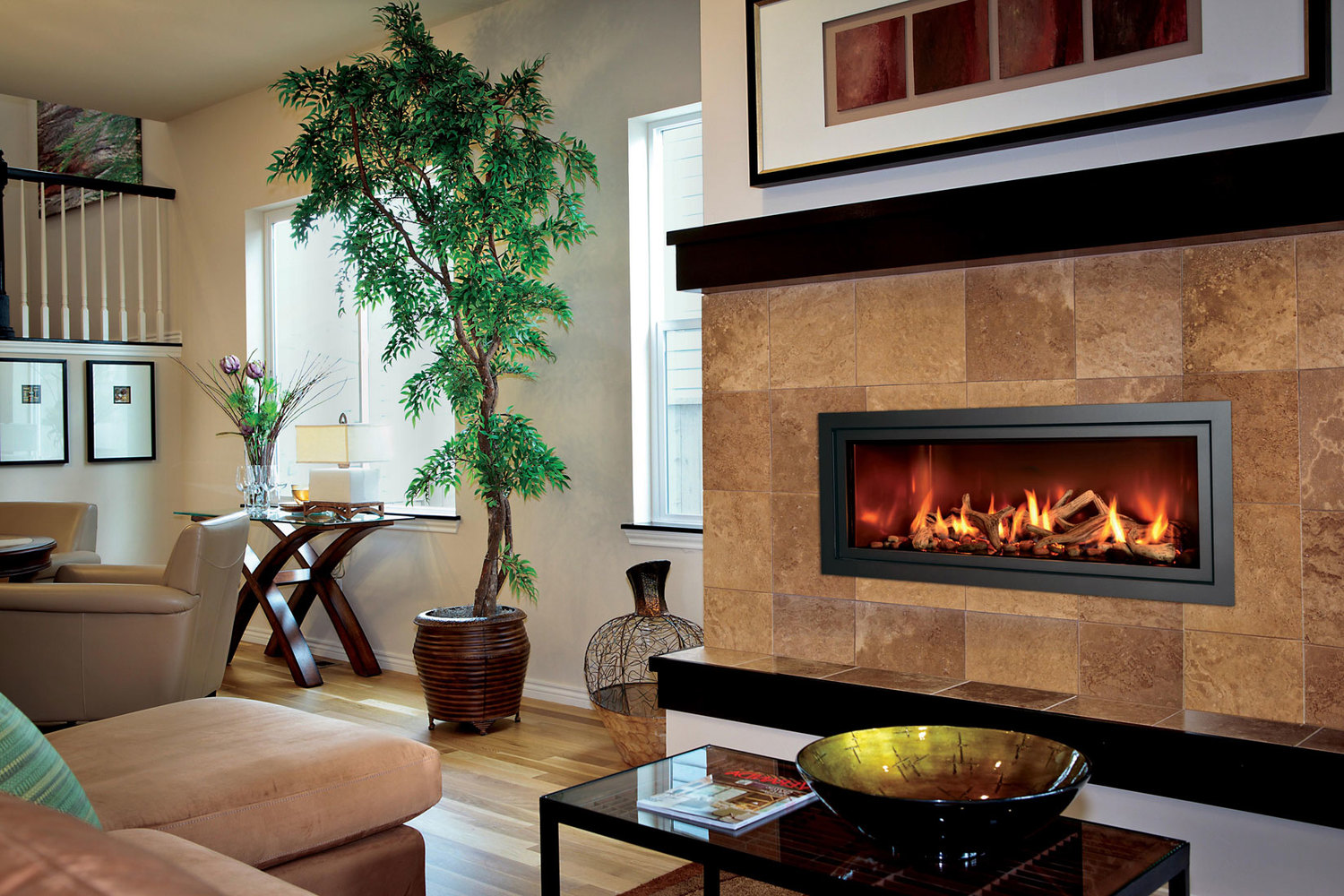 Gas Fireplace Fireplace Bbq Center