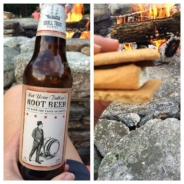 Perfect little date night @justinbutler82 ❤️#smores and #rootbeer #ftw #home #Princeton #lifeisgood