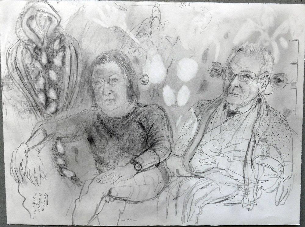 Bill Jensen and Margrit Lewezuk