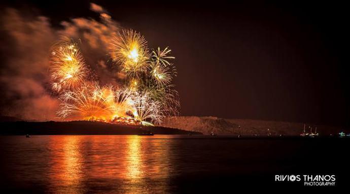 Volcano Festival Santorini