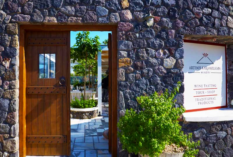 Karamolegos Winery Santorini