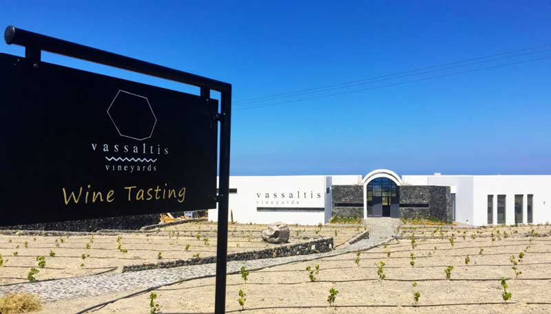 Vassaltis Winery Santorini