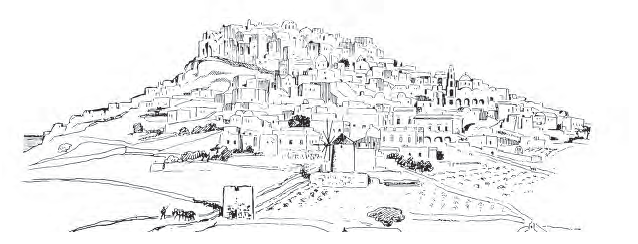 Pyrgos Village Santorini. Design by N.Nomikos