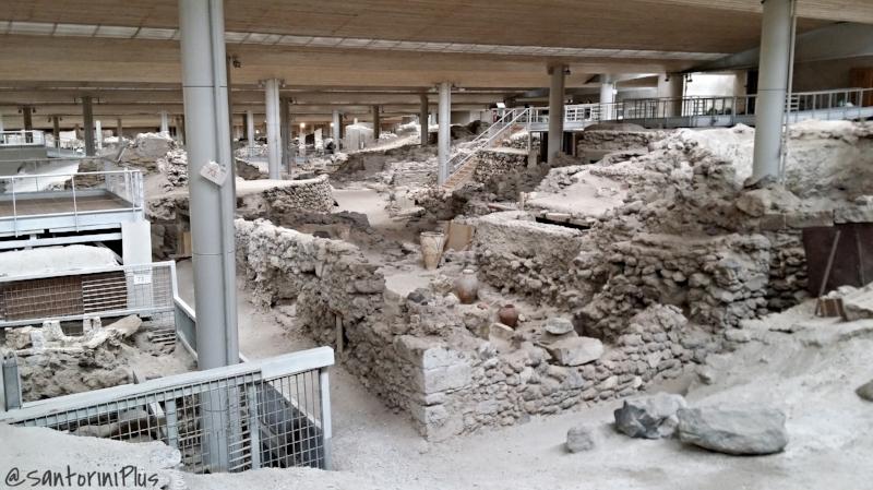 Aktotiri Excavations Santorini Plus