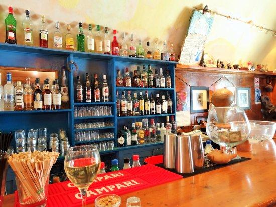 Kira Thira jazz bar interior. Cute and with awesome sangria