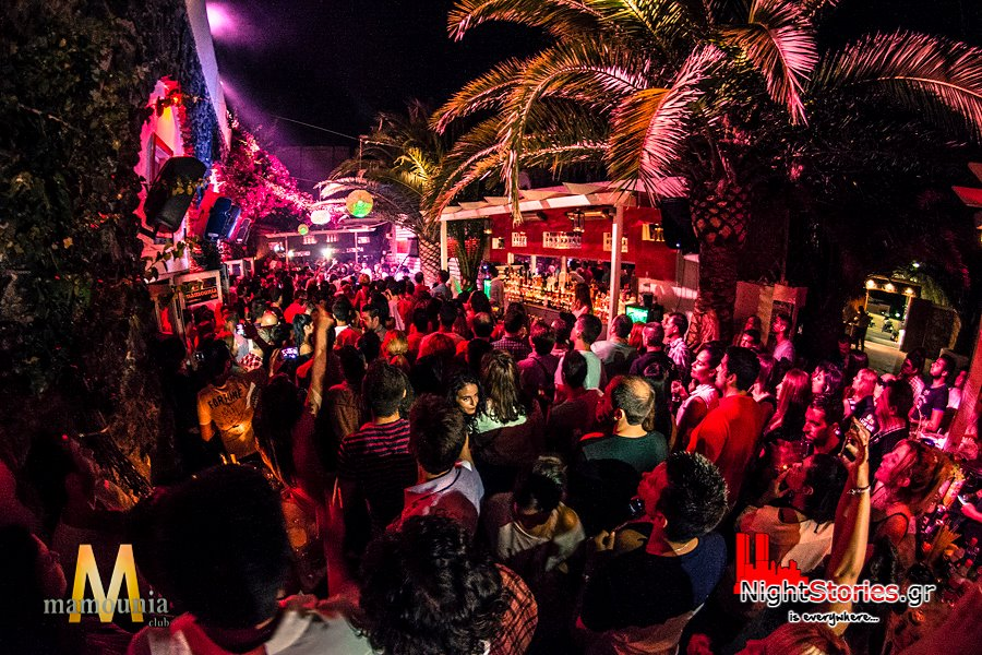 Mamounia Club is where locals party
