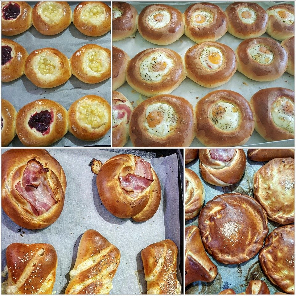 These are only some of the baked goodies of Svoronos bakery…