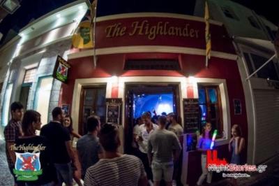 Highlander is a scotch bar