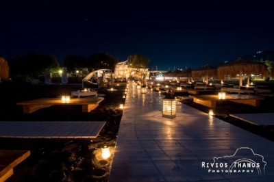 At Seaside by Notos you can arrange a private night on the beach for you and…the other half!