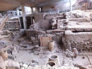 Akrotiri Excavations, Santorini.Top Things To Do in Santorini | @SantoriniPlus