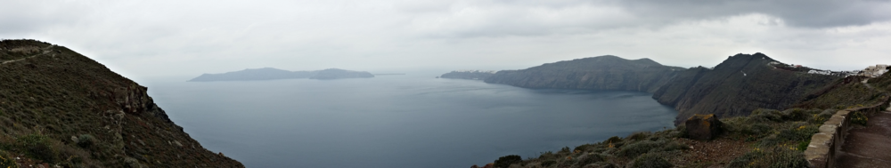 Hike from Fira To Oia, Santorini