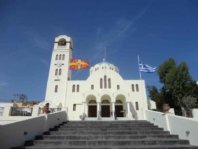 Main Square of Emporio Santorini